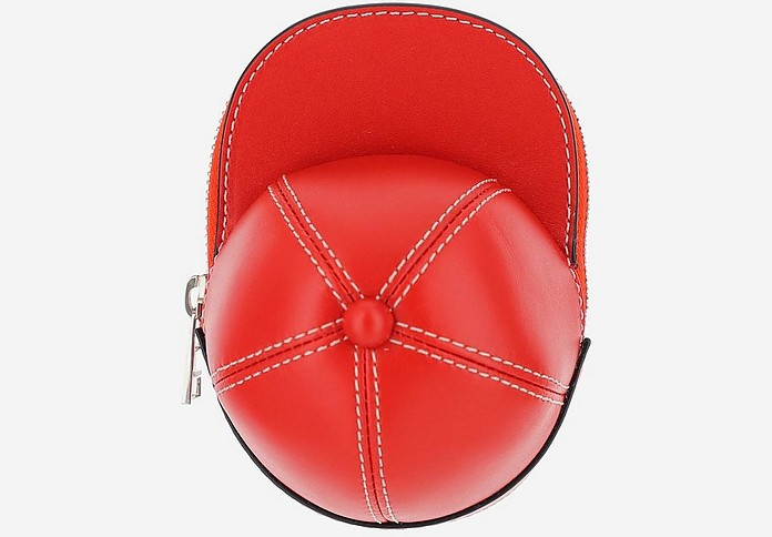 Red Cap Bag w/Shoulder Strap - JW Anderson