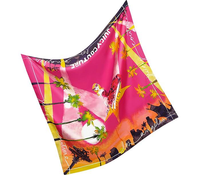 LA Silk Square Scarf - Juicy Couture