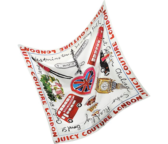 London Silk Square Scarf - Juicy Couture