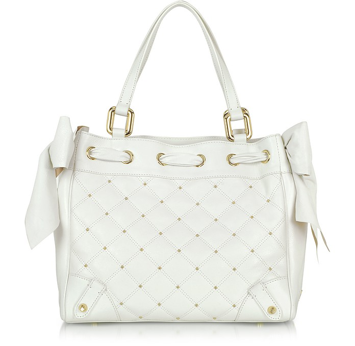 Frankie Genuine Leather Daydreamer Satchel - Juicy Couture
