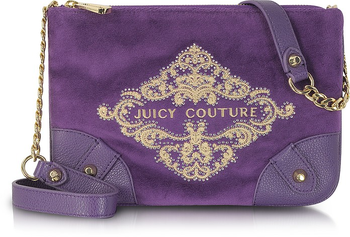 Velour Louisa Flat Crossbody Bag - Juicy Couture