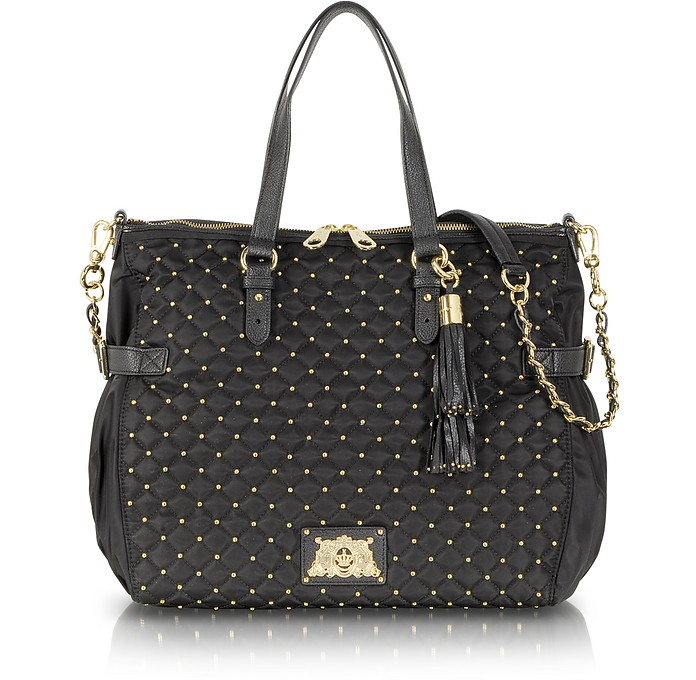 Lauryn Nylon and Leather Quilted Venice Tote - Juicy Couture