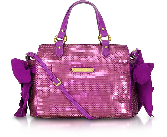 Sunshine Shimmer Miss Daydreamer Sequin Satchel - Juicy Couture