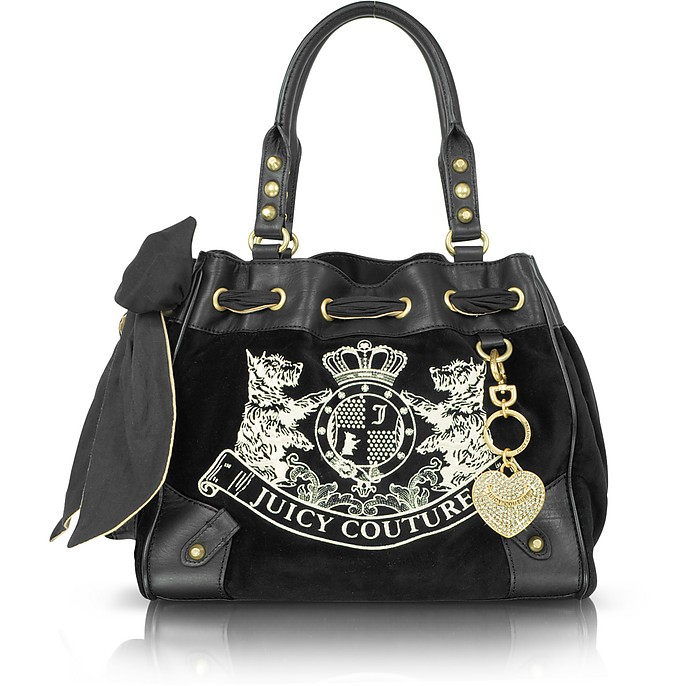New Scottie Embroidery Daydreamer Shoulder Bag - Juicy Couture