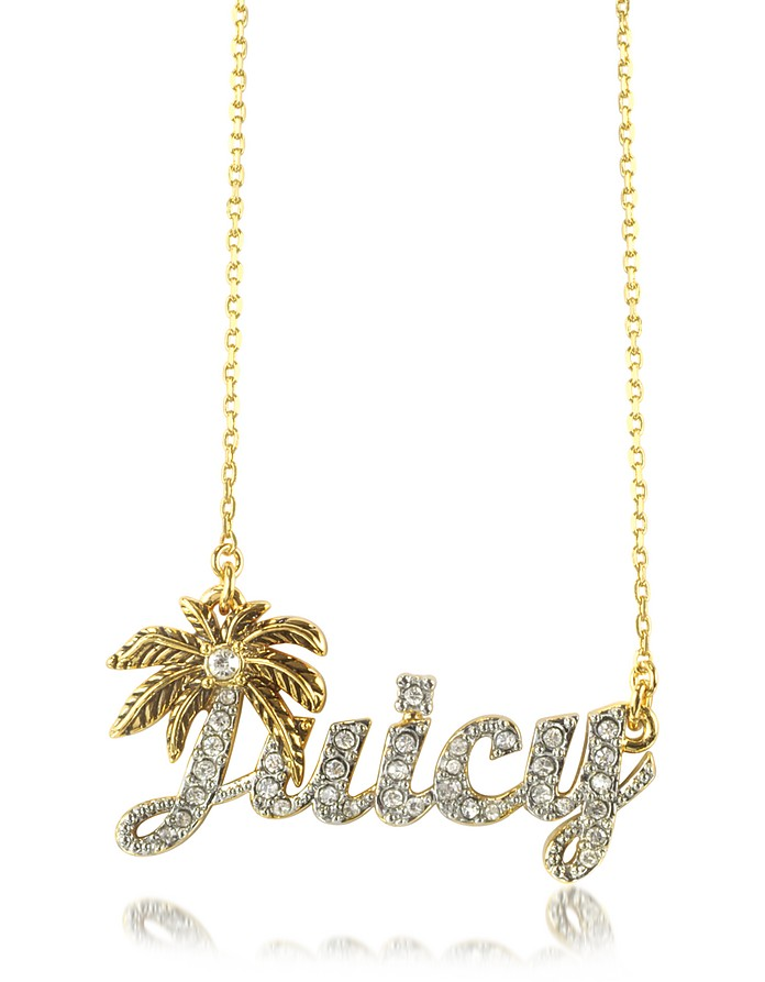Juicy 棕榈特色项链 - Juicy Couture