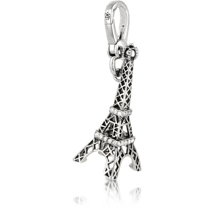 Eiffel Tower Silver Charm - Juicy Couture