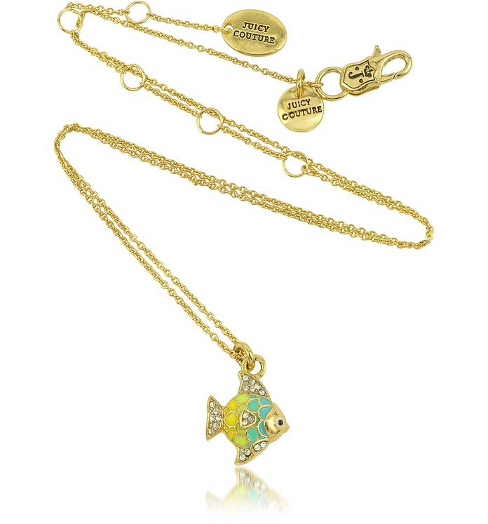 Tropical Fish Mini Wish Necklace - Juicy Couture