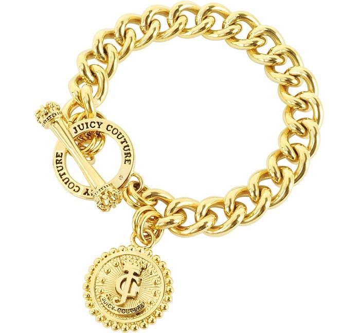 Status Coin Charm Bracelet - Juicy Couture