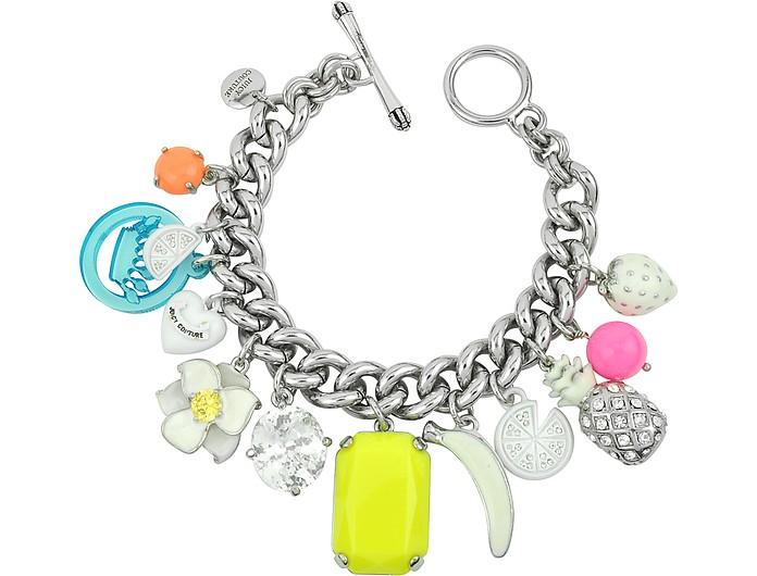 White Fruit Charm Bracelet - Juicy Couture