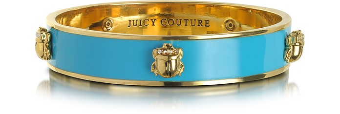 Skinny Enamel Bangle - Juicy Couture