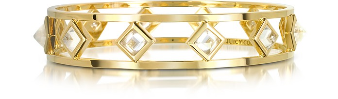 Crystal Pyramid Bangle - Juicy Couture