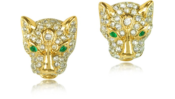 Pave Leopard Stud Earring - Juicy Couture