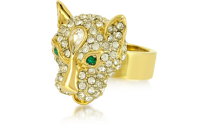 Pave Leopard Ring - Juicy Couture