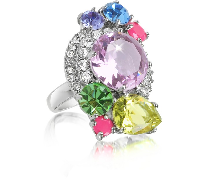 Gemstone Cluster Ring - Juicy Couture