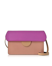Efimia Peach and Hot Pink Leather Shoulder Bag - Roksanda / ロクサンダ