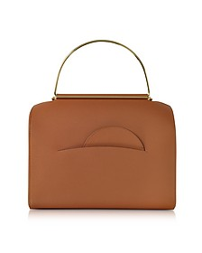 Tobacco Leather Bag NO. 1  - Roksanda
