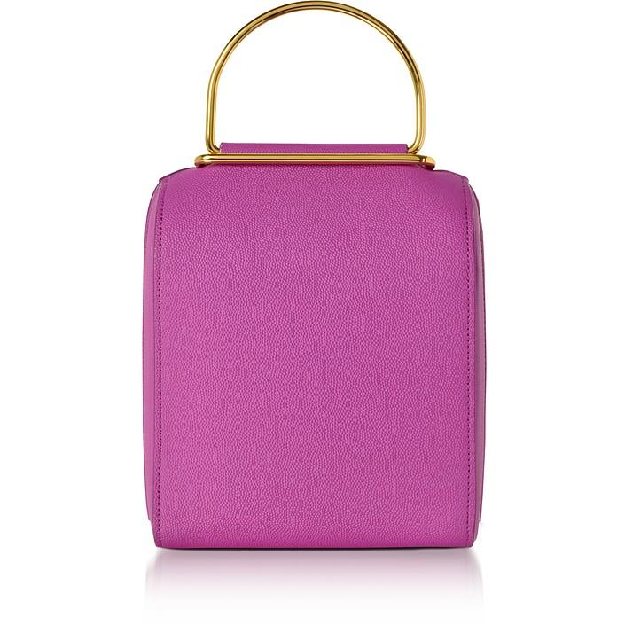 Hot Pink Leather Besa Bag - Roksanda