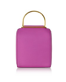 Hot Pink Leather Besa Bag - Roksanda