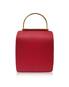 Red and Honey Leather Besa Bag - Roksanda