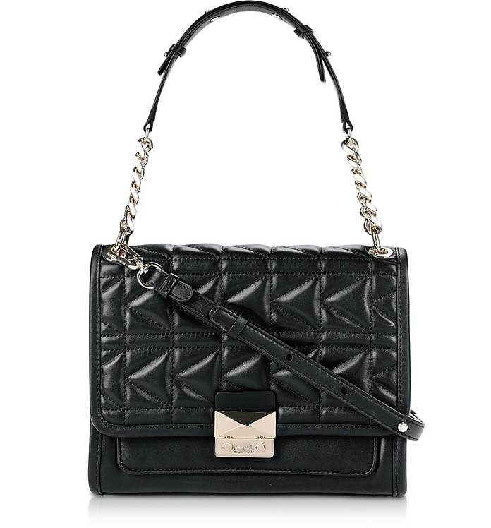 K/Kuilted Leather Shoulder Bag - Karl Lagerfeld