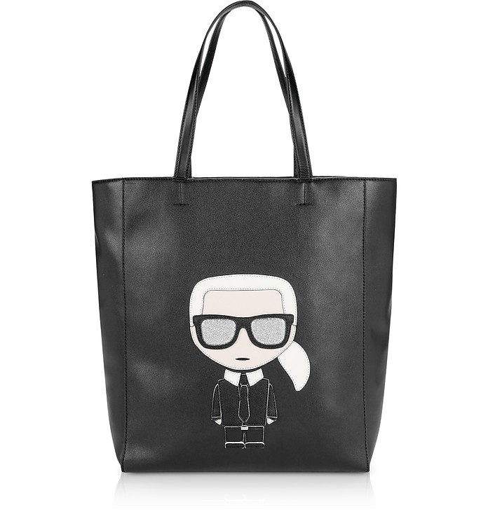 K/Iconic Soft Tote Bag - Karl Lagerfeld