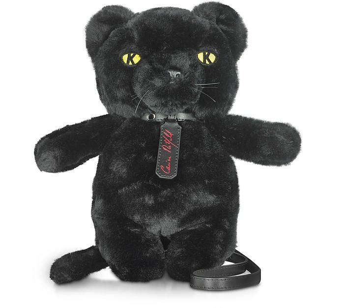 Karl X Carine Black Panther Crossbody Bag - Karl Lagerfeld