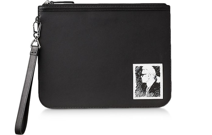 Karl Legend Essential Clutch - Karl Lagerfeld