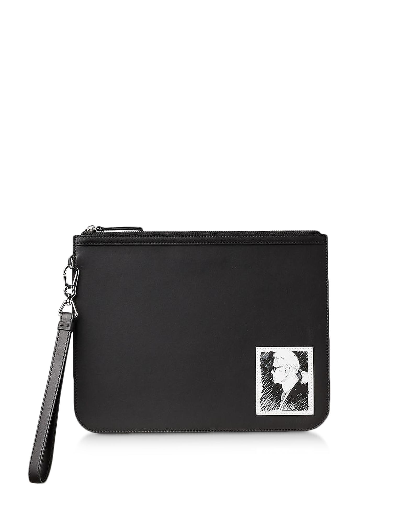 Karl Lagerfeld Clutch KARL LEGEND ESSENTIAL CLUTCH