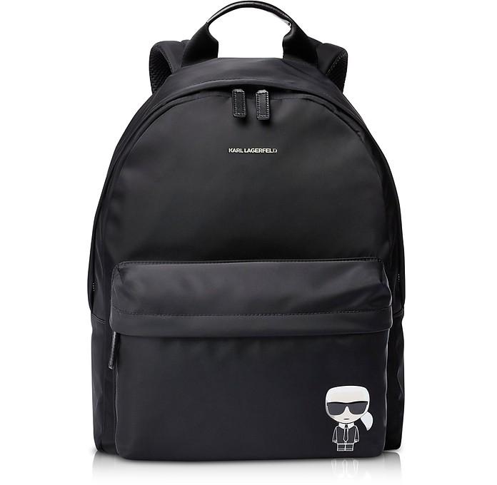 K/Ikonik Nylon Backpack - Karl Lagerfeld