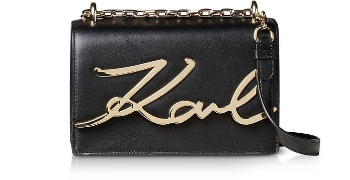 K/Signature Small Shoulder Bag - Karl Lagerfeld