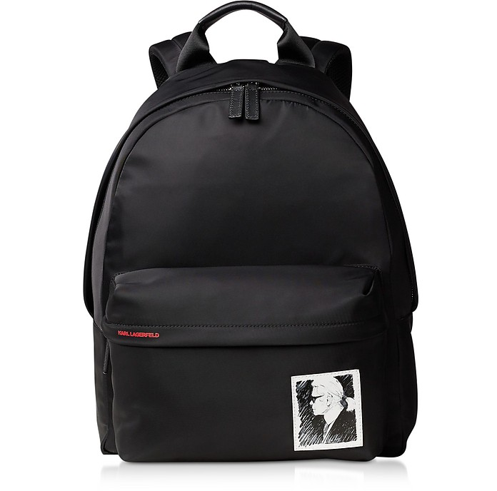 Karl Legend Nylon Backpack - Karl Lagerfeld
