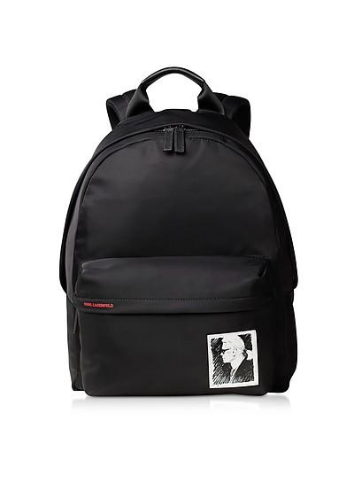 Karl Legend Nylon Backpack - Karl Lagerfeld