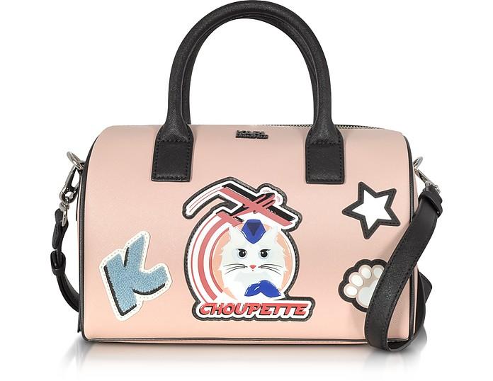 Karl Lagerfeld Kjet Choupette Quartz Mini Duffle Bag At Forzieri