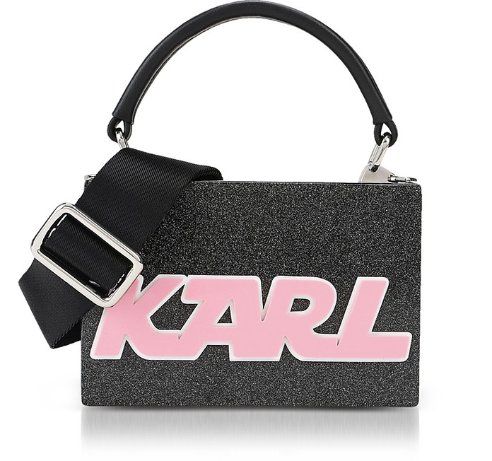 K/Sporty Minaudiere Top Handle Bag - Karl Lagerfeld
