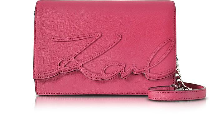 K/Signature Essential Shoulder Bag - Karl Lagerfeld
