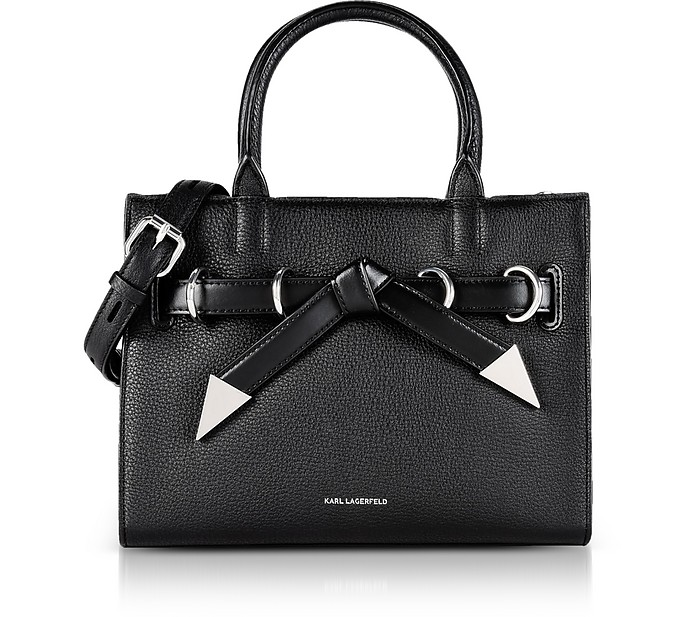 K/Rocky Bow Small Shopper - Karl Lagerfeld