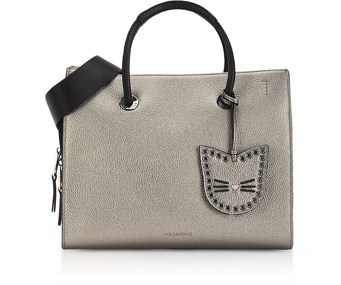 931764f3ad11 Karl Lagerfeld Taupe K Karry All Shopper at FORZIERI UK