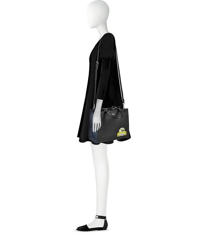NYC Mini Shopper Nera con Logo Karl Lagerfeld YYiwIF