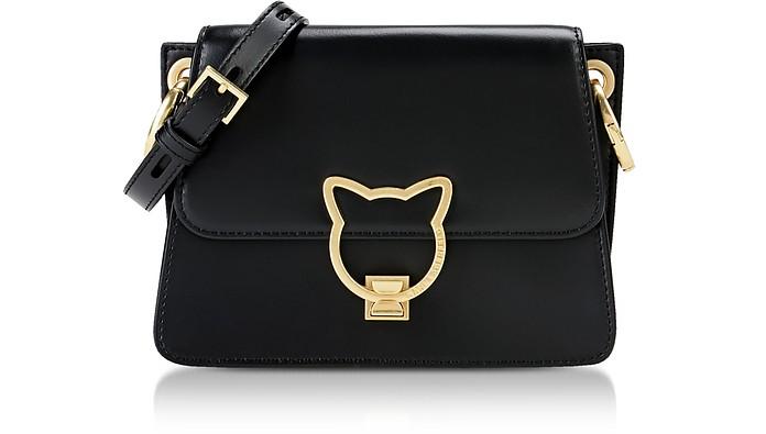Black K/Kat Lock Crossbody Bag - Karl Lagerfeld