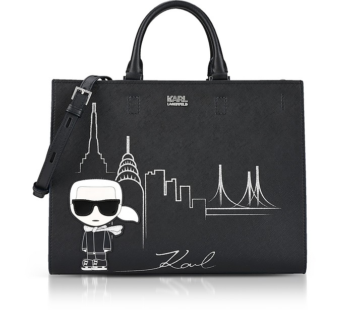 Black NYC Tote Bag - Karl Lagerfeld