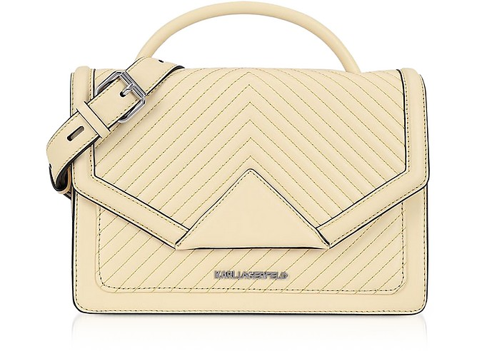 K/Klassic Quilted Leather Shoulder Bag - Karl Lagerfeld