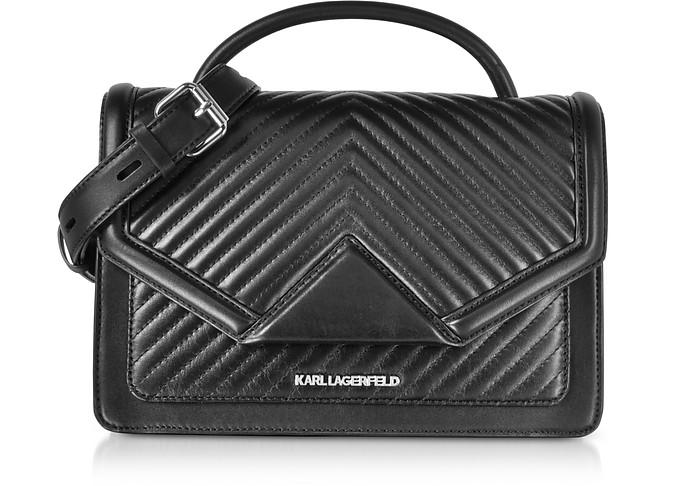 K/Klassic Quilted Leather Shoulder Bag - Karl Lagerfeld