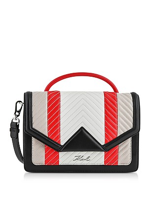 20b2ad8bac K Klassic Multicolor Quilted Leather Shoulder Bag - Karl Lagerfeld