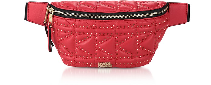 K/Kuilted Studs Belt Bag - Karl Lagerfeld