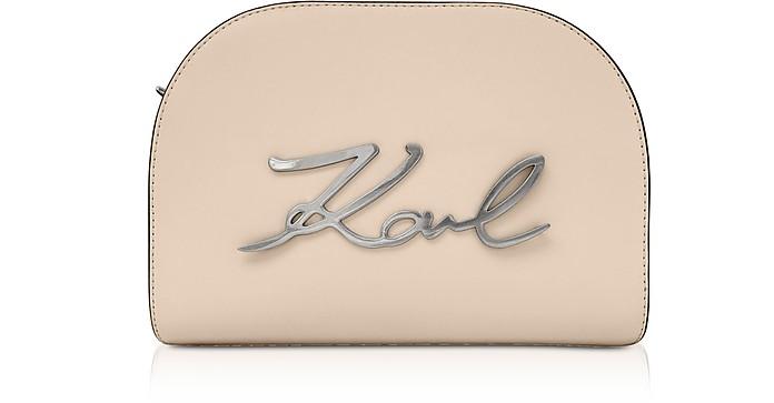 K/Signature Large Crossbody Bag - Karl Lagerfeld