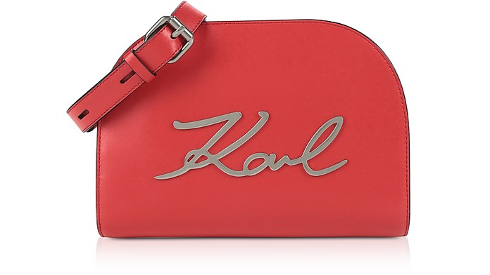 K/Signature Large Crossbody Bag - Karl Lagerfeld