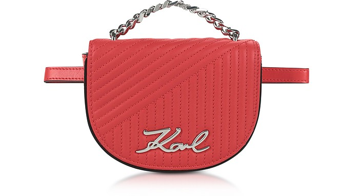 K/Signature Quilted Belt Bag - Karl Lagerfeld / カール ラガーフェルド