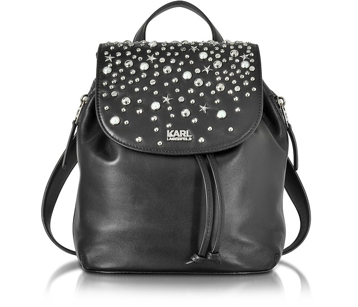 be903574801 Karl Lagerfeld K/Rocky Studs Backpack at FORZIERI