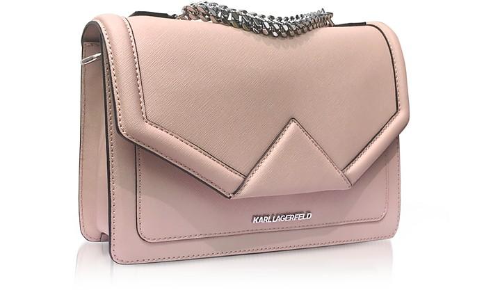 ff5cfc611c700 K Klassik Pink Ballet Leather Shoulder Bag - Karl Lagerfeld.  219.00   365.00 Actual transaction amount