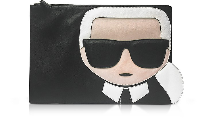 9245548a86313 Karl Lagerfeld K Ikonik Pouch at FORZIERI UK